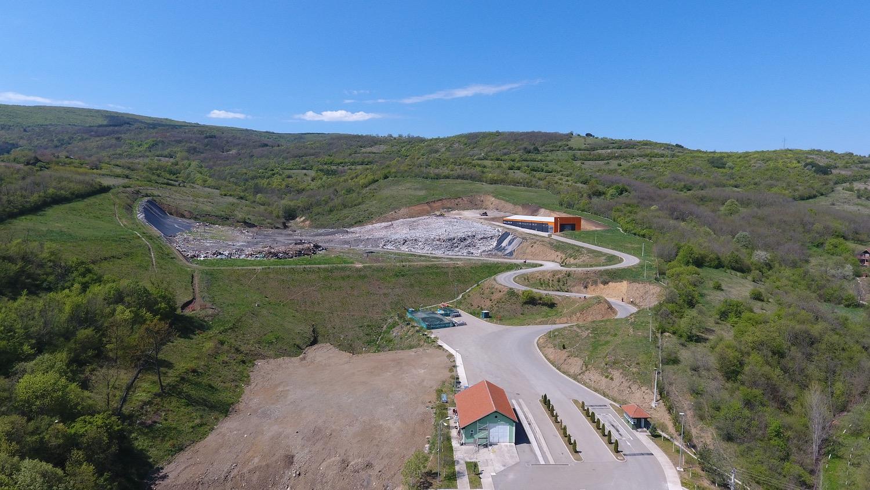 Регионална депонија Пирот – Снимак из ваздуха